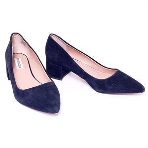 Steve Madden suede Cormac block heel shoes